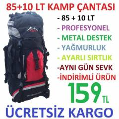 85+10 Lt Outdoor Da�c� B�y�k Boy S�rt �anta 95LT