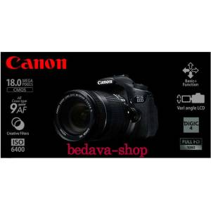 CANON EOS 60 D 18-135 KIT ** HED�YEL�D�R **