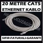20 METRE CAT5E ETHERNET ADSL KABLOSU