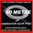 40 METRE CAT5E ETHERNET ADSL KABLOSU