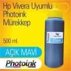 HP Yaz�c�lar i�in Vivera uyumlu 500 ml Light Ma