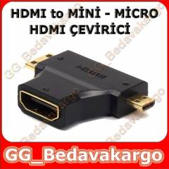 Hdmi to Mini Hdmi ve Micro Hdmi �evirici