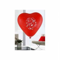 KALPL� I LOVE YOU BASKILI BALON 100 ADET