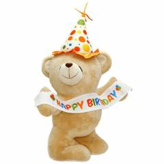 Happy Birthday Flamal� Pelu� Ay� 55 cm