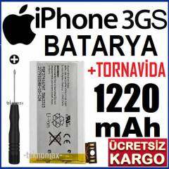 iPHONE 3GS BATARYA P�L 1220 mAh +TORNAV�DA