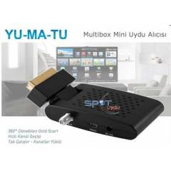 YUMATU MULT�BOX  UYDU ALICI 2014 MODEL 24,99 TL