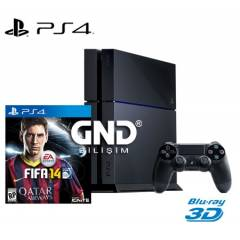 Sony PS4 500 GB + Fifa 14 + PS4 Kulakl�k + HDMI