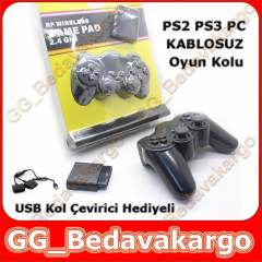 PS2 PS3 KOL OYUN KOLU GAMEPAD KABLOSUZ WIRELESS