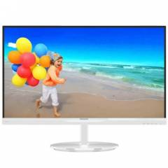 Philips 21.5 224E5QSW-01 LED Monit�r 5ms Beyaz