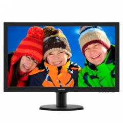 Philips 23,6 243V5LAB-01 5ms Led Monit�r Siyah