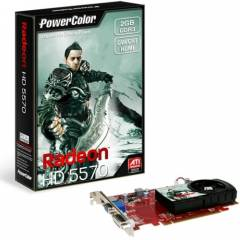 PowerColor HD5570 2 GB 128Bit DDR3 16X