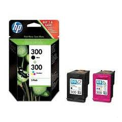 HP CN637 INK CARTR�DGE (300) S�YAH VE RENKL�