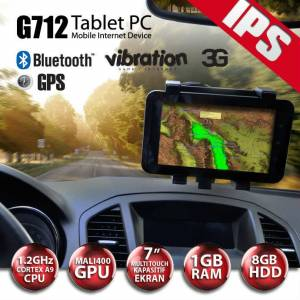 "ARTES G712 3G GPS 7"" BLUE VIB 1GB 8G TABLET PC"