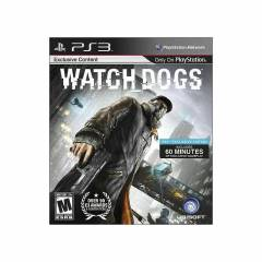 PS3 WATCHDOGS PS 3 PLAYSTAT�ON 3 SIFIR OYUN
