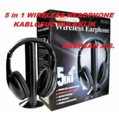 5 in 1 KABLOSUZ ( wireless ) KULAKLIK MH2001