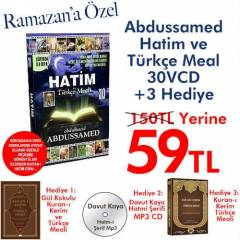 ABDUSSAMED-HAT�M VE T�K�E MEAL 30VCD + 3 HED�YE