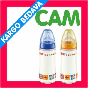 Nuk First Choice 0-6 Ay  CAM Biberon 240 ML