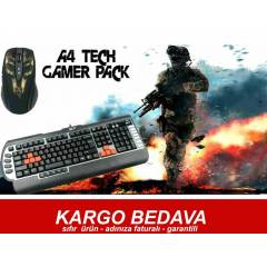 A4TECH X7 OYUNCU SET G800V KLAVYE + 750BH MOUSE