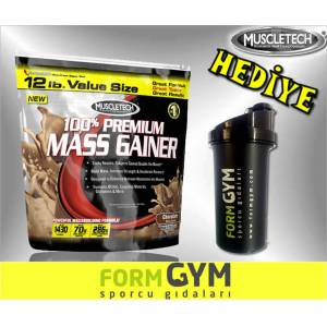 Muscletech Premium Mass Gainer 5443 gr + HED�YE