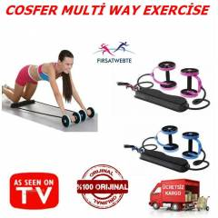 Cosfer Multi-Way Exercise Whell egzersiz aleti