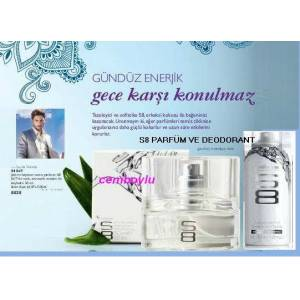 OR�FLAME S8 EDT ERKEK parf�m SET�.do�al koku