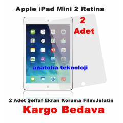 Apple iPad Mini 2 Retina Ekran Film Jelatin