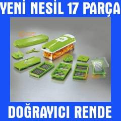Pratik Patates So�an Do�ray�c� Dilimleyici Rende