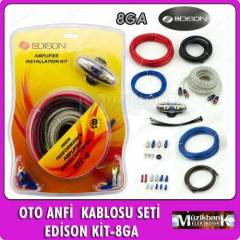 OTO ANF� KABLO SET� ED�SON K�T 8GA FULL SET