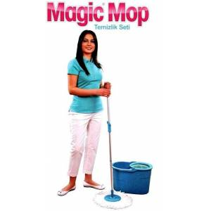 Magic Mop Otomatik Temizlik Seti Nano Paspasl�