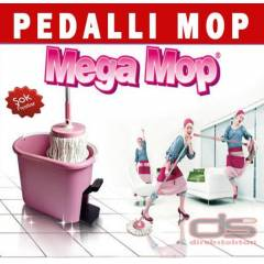 Magic Mop 360 Pedall� Temizlik Seti Nano Paspas