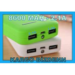 8600MAH POWER BANK HAR�C� TA�INAB�L�R �ARJ ALET�