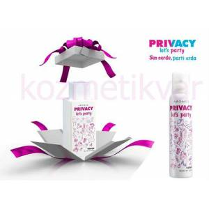 privacy let's party bayan parf�m set 100ML