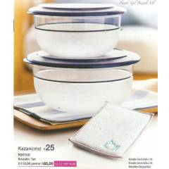 Tupperware Kristalin Set + bula��k bezi