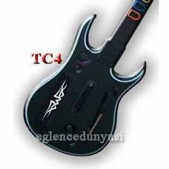 PC-PS2-PS3 WIRELESS GUITAR HERO ROCK BAND G�TAR