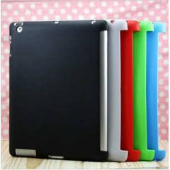 iPad 2 K�l�f Silikon Soft Smart Cover Uyumlu