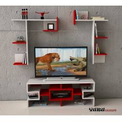 Yurudesign Mission Lcd Led Tv �nitesi Sehpa Raf