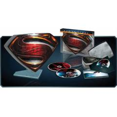 Man Of Steel S - Shield Tin Case 3D-BLU-RAY �R�N