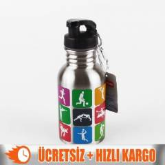 +Mikro Mt-2839 �elik Matara 400ml