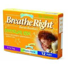 BREATHE RIGHT BURUN BANDI �OCUKLAR ���N(5-12YA�)