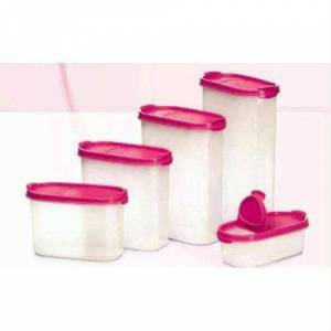 Tupperware oval set 5 li