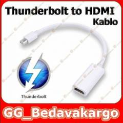 Apple Thunderbolt to HDMI Kablo �evirici 10 Gbit