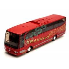 WELLY 1:60 MERCEDES TRAVEGO YOLCU OTOB�S� KIRMZI