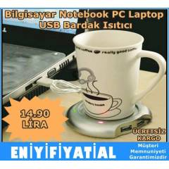 Bilgisayar Notebook PC Laptop USB Bardak Is�t�c�
