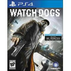 WATCH DOGS EXCLUSIVE EDITION PS4 OYUN --SIFIR--