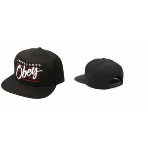OBEY PROPAGANDA FULL CAP - SNAPBACK- MODEL.