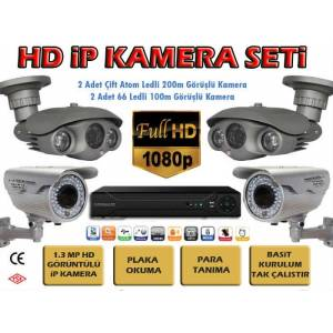 Kamera G�venlik Sistemi ip MP Kamera HD Set