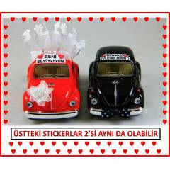 ��FT VOSVOS 1967 VOLKSWAGEN BEETLE MAKET 2 ARABA
