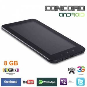 Concord 7 8gb Telefon, Tablet Pc, 3G Smartpad