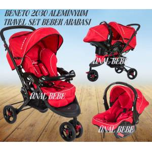 Beneto Travel �� Tekerli SET Bebek Arabas� Puset