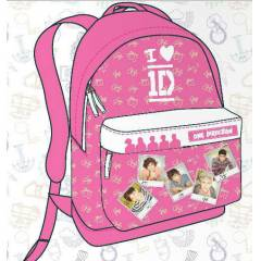 One direction Okul S�rt �antas� Pembe orjinal